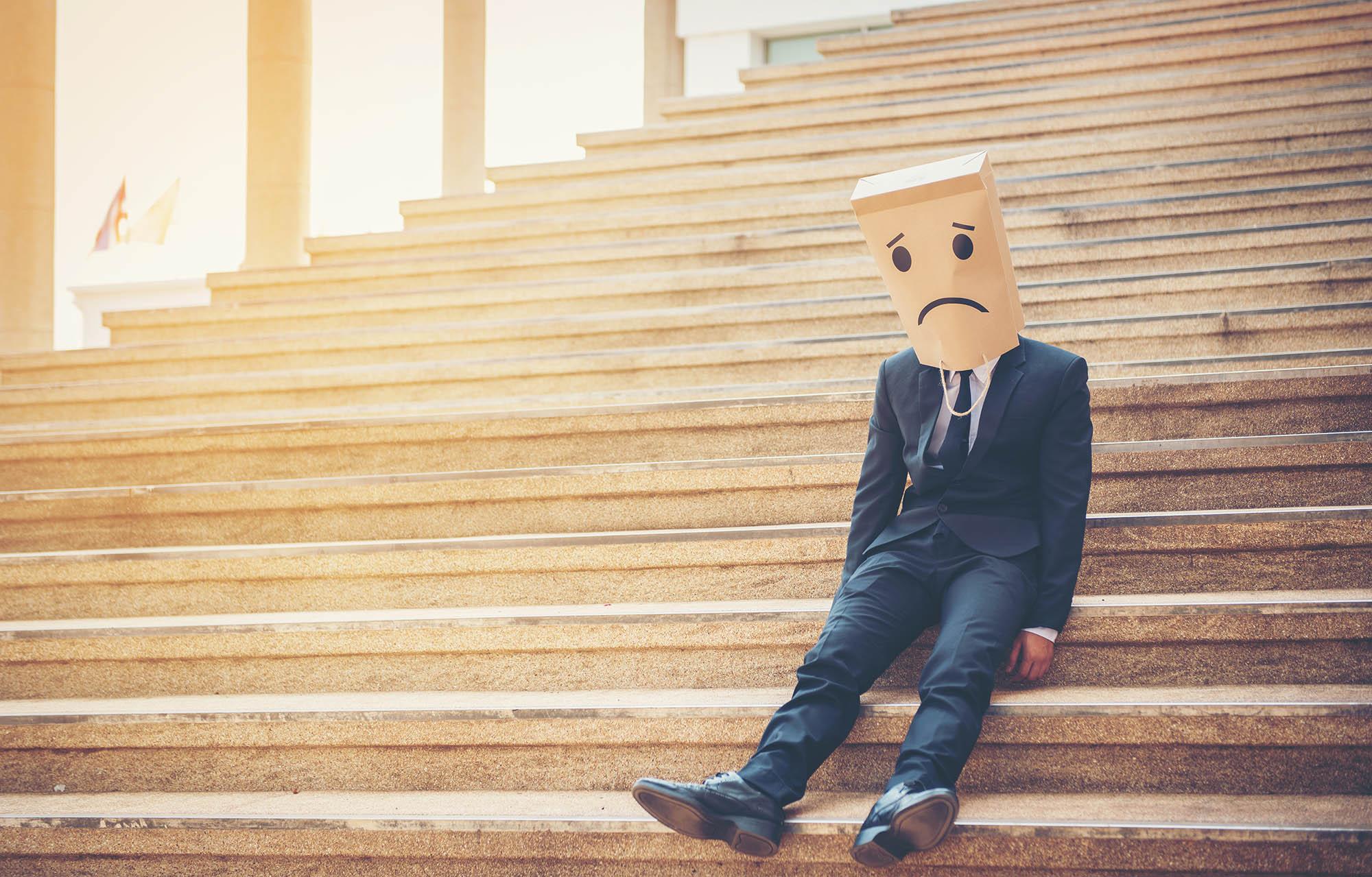 Sad face partial backlinks on social