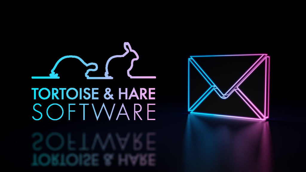 tortoise and hare software newsletter list neon colors