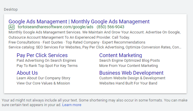 occupy more SERP real esate