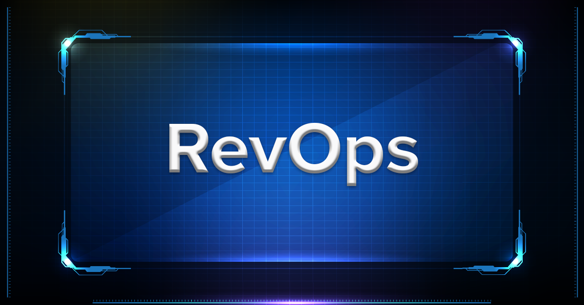 revops organizational structure in saas