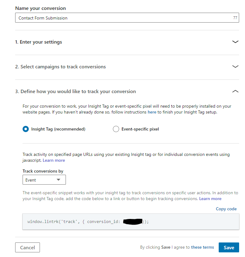 LinkedIn-Conversion-Tracking