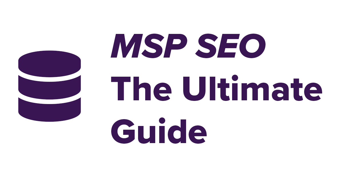 msp seo ultimate guide